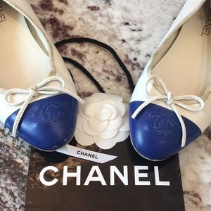 CHANEL   Authentic Ballet Flats Size 38 cosmetics